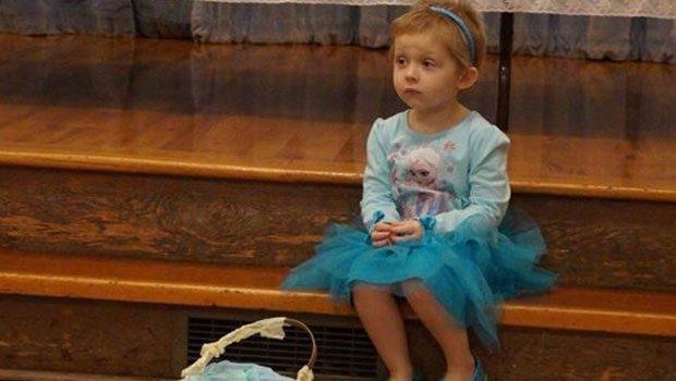 Minik bir kızın son doğum günü :(