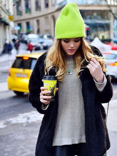 Sokak modasında bere kombinlemenin yolu!