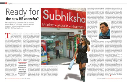 Ready for the new HR morcha? - subhiksha