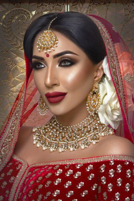 Mehwish Almas Asian Bridal Makeup Artist London