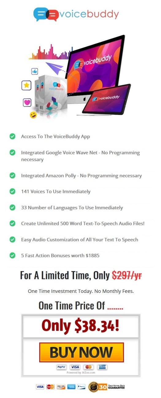 VoiceBuddy-price