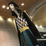 名駅のナナちゃん人形が、武将ナナちゃんで第64回名古屋まつりをPR(2018年9月)