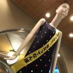 名駅のナナちゃん人形が、反射材を身に着けて高齢者交通安全をPR!(2018年9月)