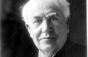 トーマス・エジソンの名言
