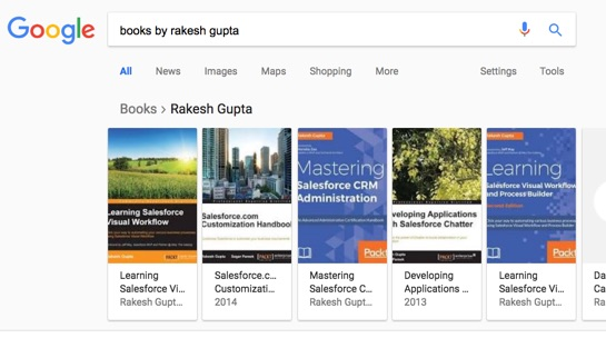 Google Search Results: Books by Rakesh Gupta