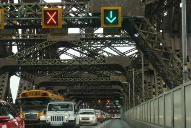 the old Québec bridge