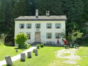 Das Nietzsche-Haus in Sils Maria
