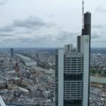 Blick auf die Dächer von Frankfurt