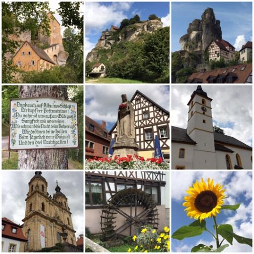 Fränkische Schweiz - neun Bilder