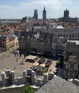 Blick auf Gent