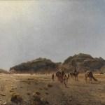 Gemälde In der Wüste Araba