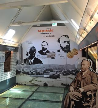 Im Museum von Geesthacht