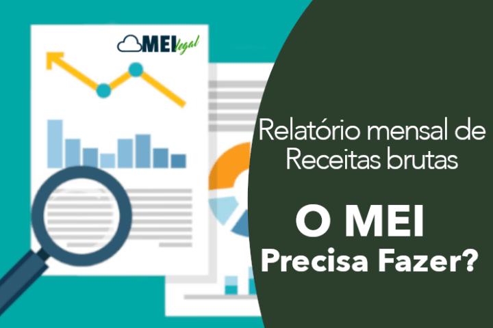 Relatório mensal de receita bruta do MEI - Contabilidade online para Microempreendedor Individual (MEI) com emissão de nota fiscal carioca, nota fiscal eletrônica entre outros serviços