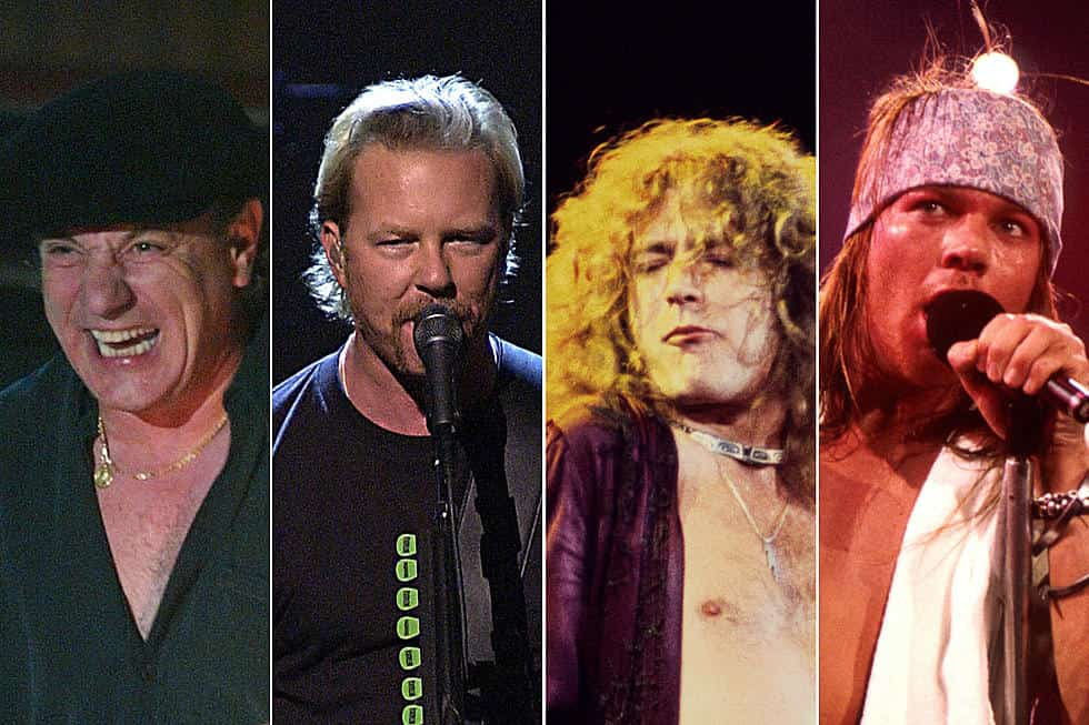 Découvrez notre classement des meilleurs chanteurs rock de l'histoire