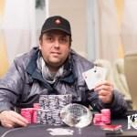 Alain Riss, brille au poker dans la ville de Rozvadov