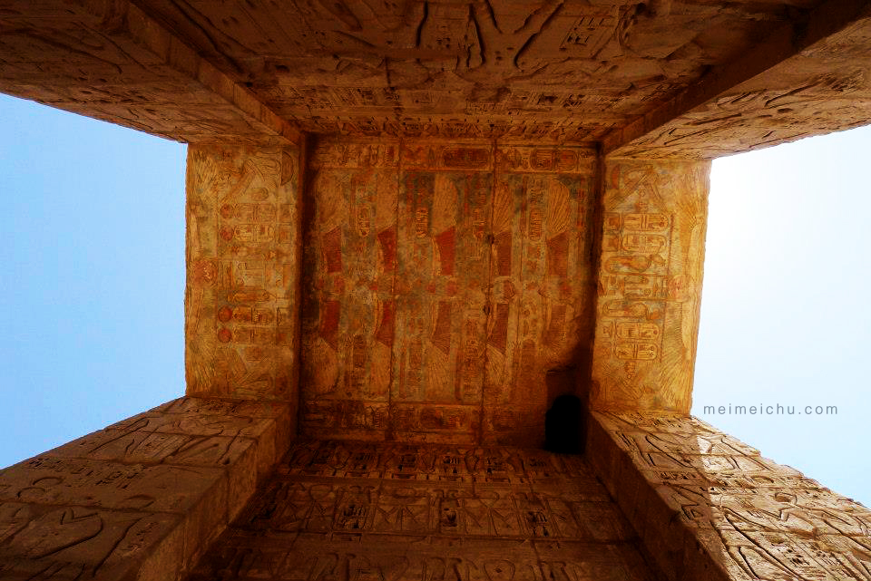 The paintings and carvings at the Valley of the Kings and Queens will blow your tiny little human mind.