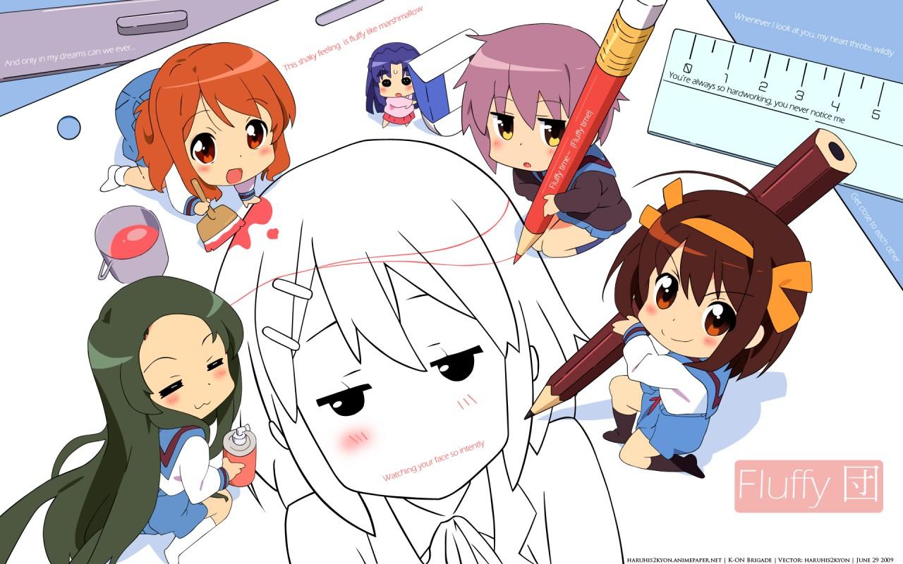 From animepaper, so very cute! Love it.