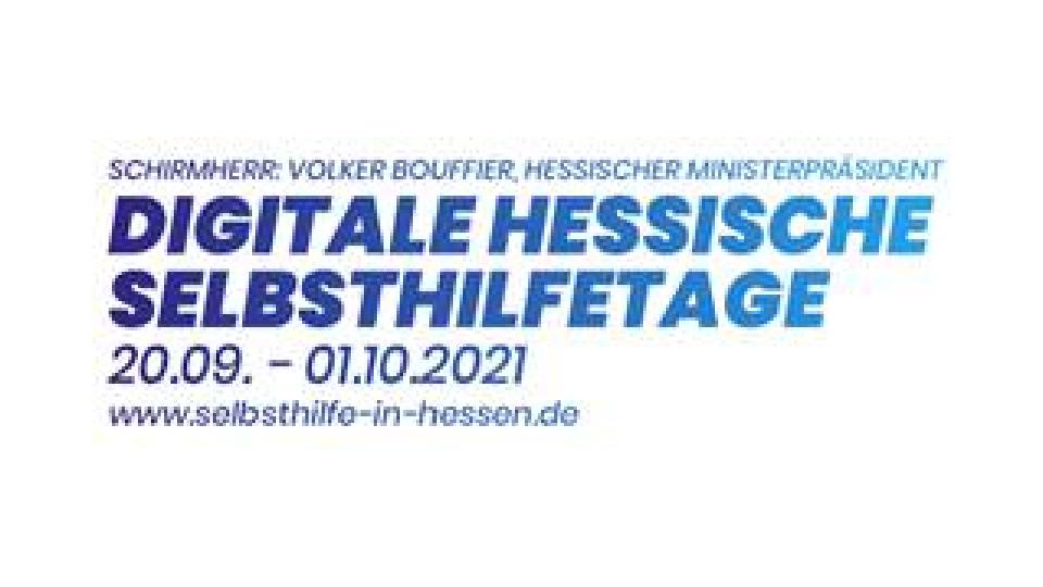 Reden tut gut – Digitale Hessische Selbsthilfetage vom 20. 9. bis 1. 10.
