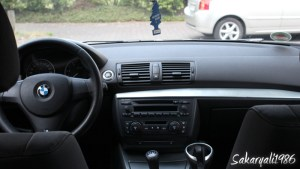 BMW 1er E87 vor dem Einbau des NEXUS 7 Tablets
