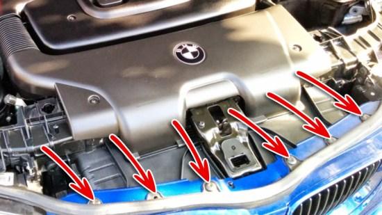 BMW 1er Nieren ausbauen