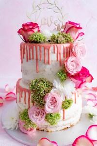 Naked Cake als Hochzeitstorte