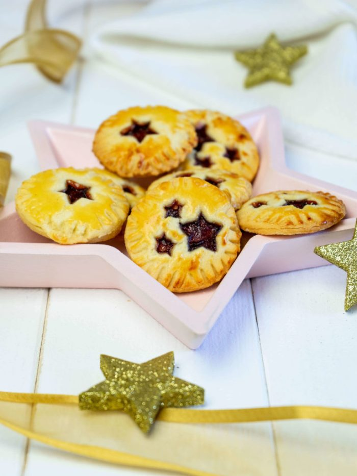 Hand Pie Plätzchen mit Marmelade
