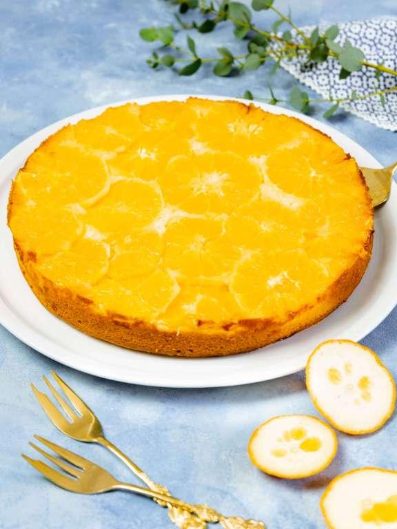 Upside-Down-Kuchen mit Orangen