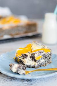 Blechkuchen-mit-Mohn-und-Pfirsichen