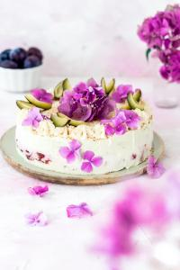 Zwetschgen-Sahne-Torte