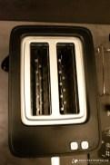 Variable Schlitzbreite für zwei Toastscheiben