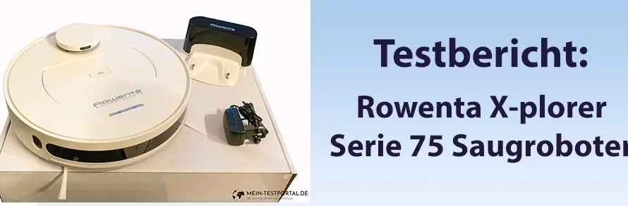 Rowenta X-plorer Serie 75 Saugroboter