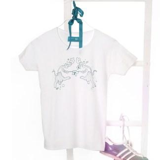 Shirt mit Tiger-Aufdruck, Farbe: white