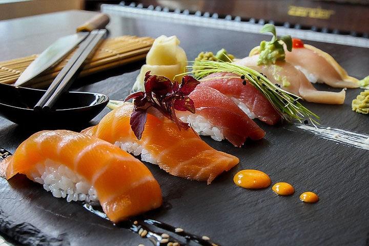 Kim Sang – Dreierlei Sushi