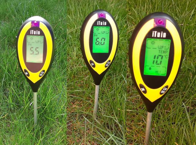 pH-Wert Messgerät für Rasen