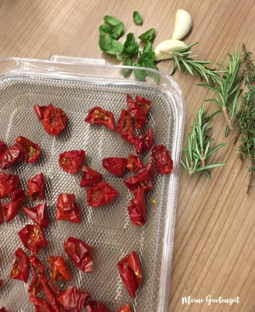 Getrocknete Tomaten selbst gemacht