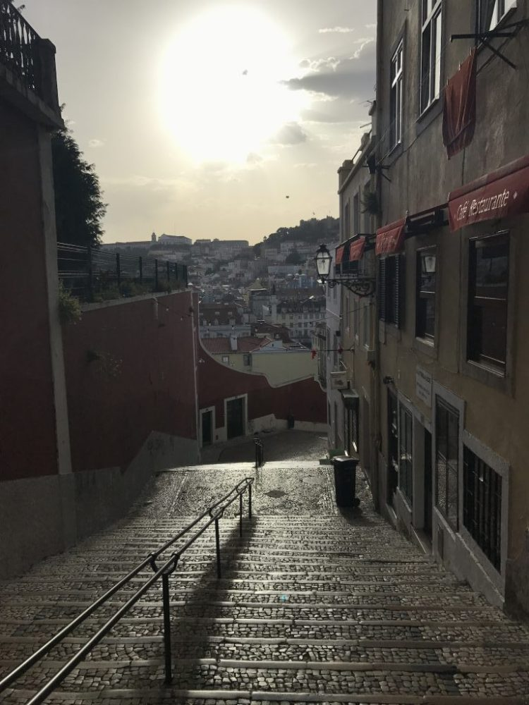 Lissabons berühmteste Treppe - Calçada do Duque