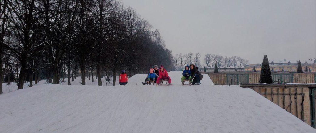 Rodel im Park Sanssouci