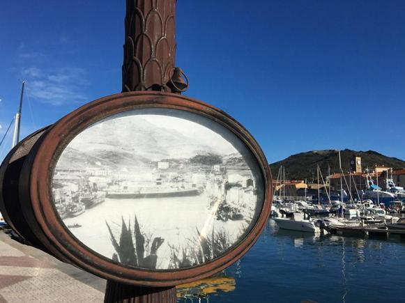 Hafenerbe in Port-Vendres an der Côte Vermeille