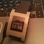 Meine Pebble Smartwatch