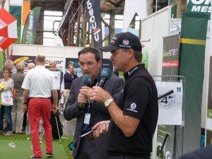Paul Lawrie päsentiert die neuen Putter von Caldonia Golf