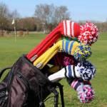 knitcap handgemachte Golfschlägerhauben