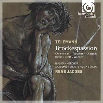 Cover: Brockes Passion von Telemann