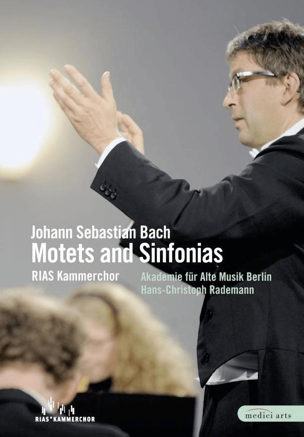 Cover Motetten von Bach