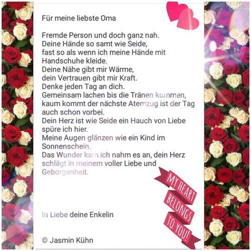 Zum Geburtstag Gedichte Fur Oma Clacypiegloria Blog