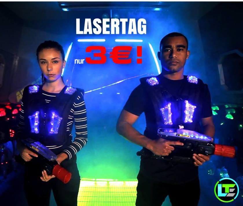 Lasertag für 3€ meinlasertag