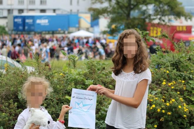 #BloggerFuerFlüchtlinge Heidenau 1