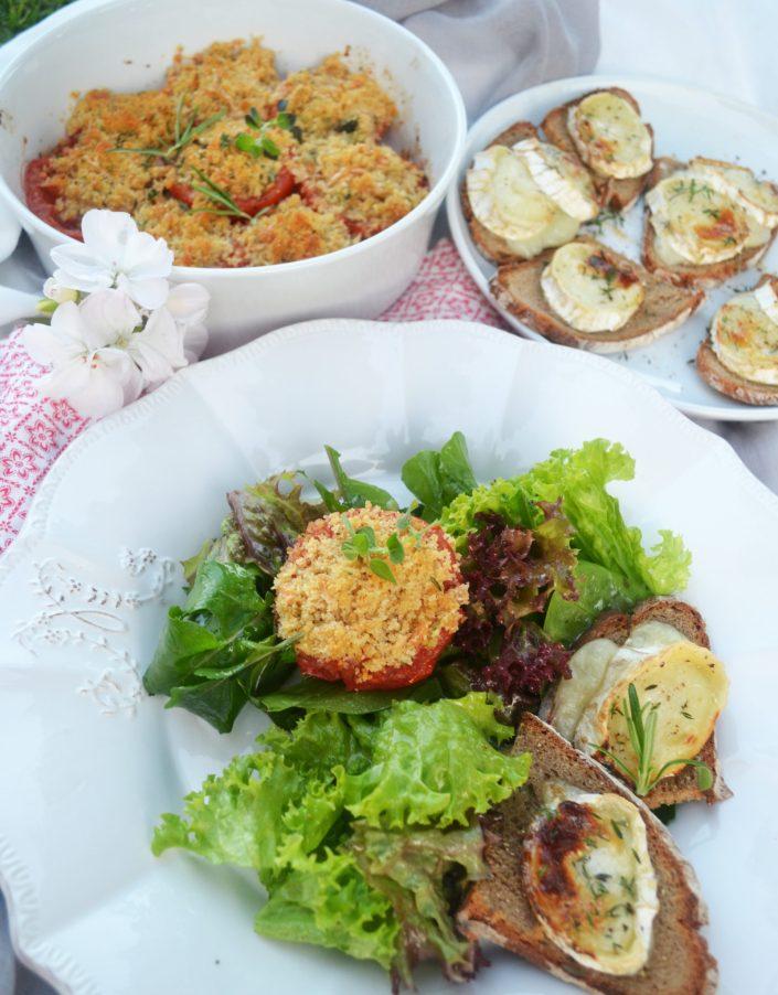 Ein sonniger Gruß aus dem Süden! Provençalische Ofentomaten