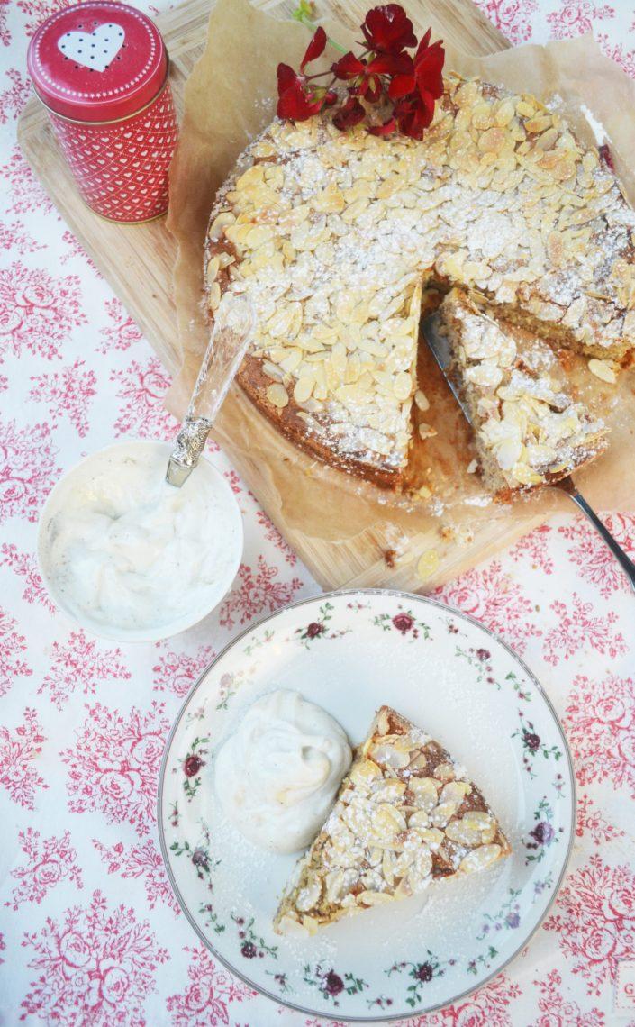 Amore mio! Mandel-Ricotta-Kuchen