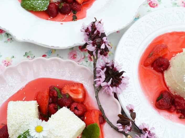 Desserts Frühling