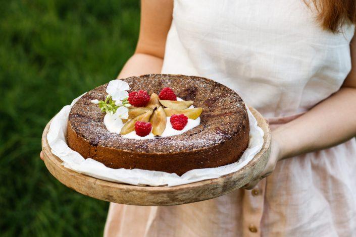 WIR HABEN DIE WAHL! Ich entscheide mich für Fairness & Mohn-Topfen-Kuchen mit Zwetschken